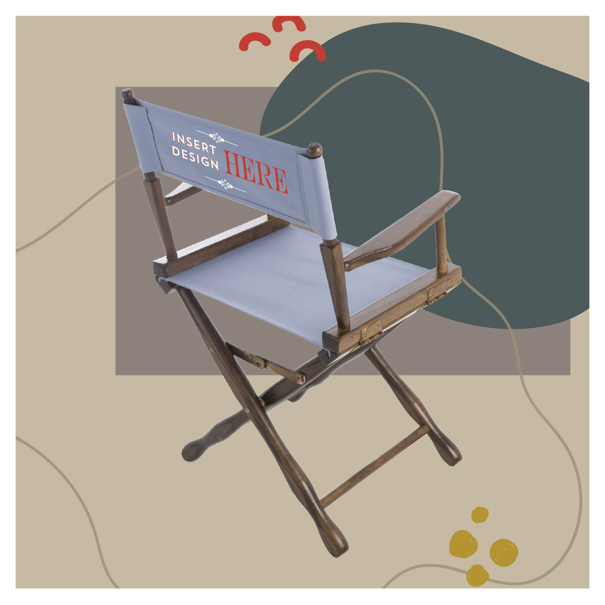 classic frame directors chair
