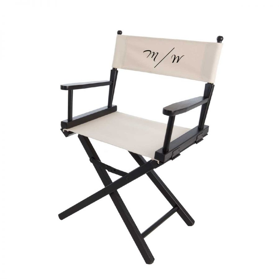 Virgule Initial Sweetheart Chair