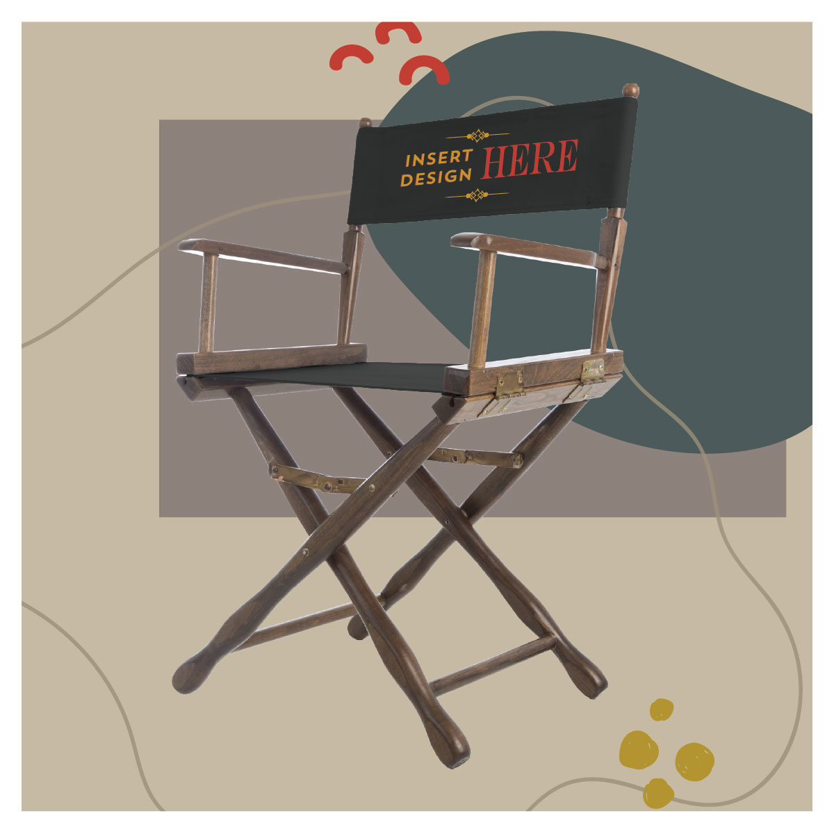 classic Gold Medal directors chair