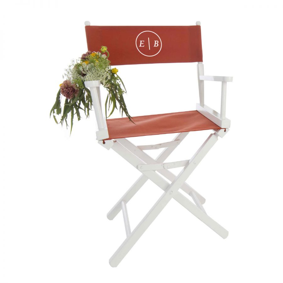 Frankfurt Monogram Sweetheart Chair